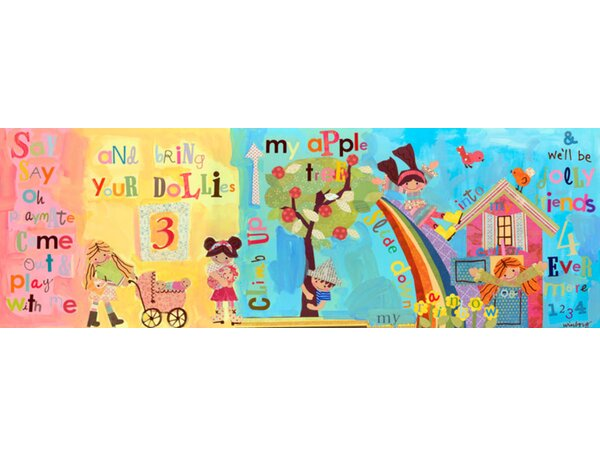 Say Say Oh Playmate Canvas Art by Oopsy Daisy