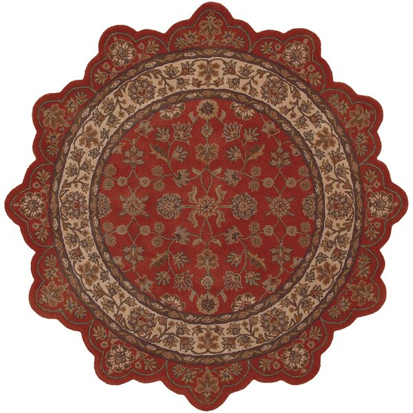 Shapes Persian Brick Rug by LR Resources