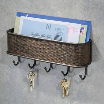 The Holiday Aisle Sukriye Ryukin Goldfish Love Wall Key Organizer With Key Hooks Wayfair