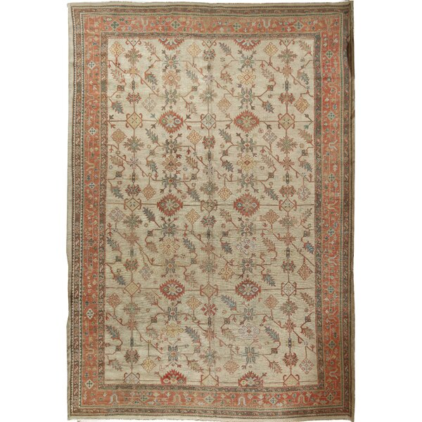 Antique Oushak Rug, circa 1900 13'x19'