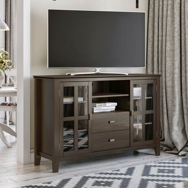 Gosport Solid Wood TV Stand For TVs Up To 55