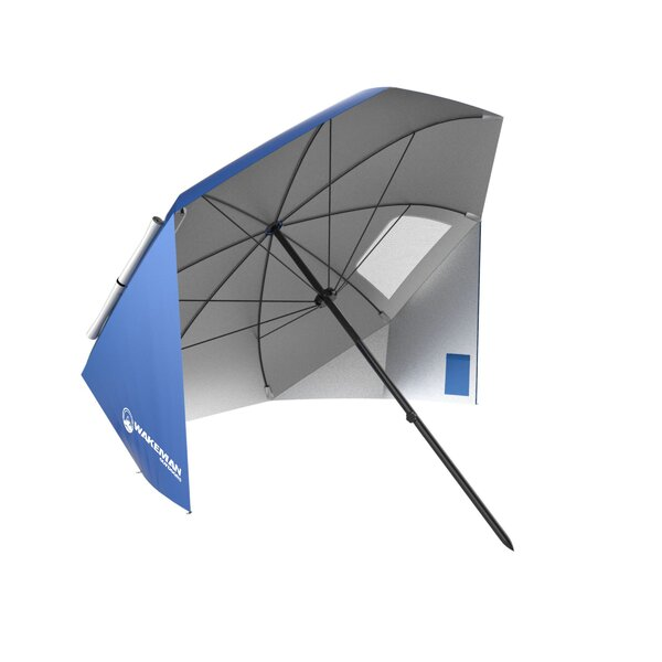 Sun Shelter 7.1' Beach Umbrella by wakeman wakeman