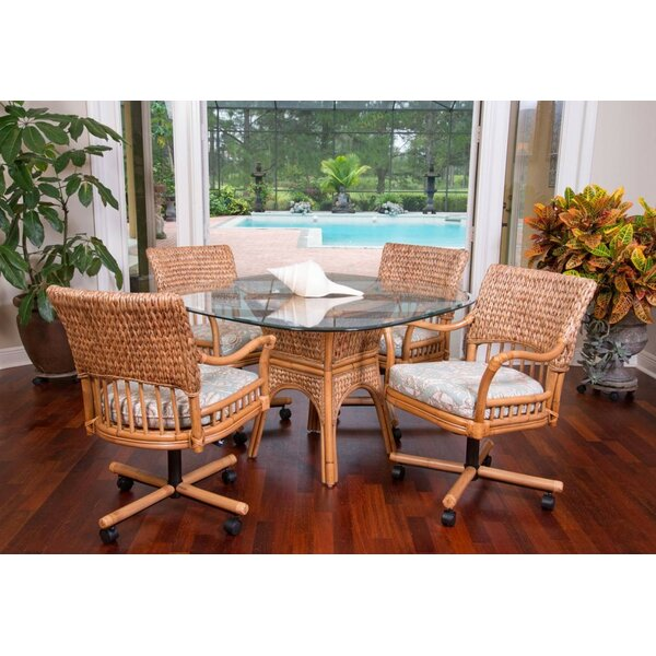 Pringle 5 Piece Dining Set by Bay Isle Home