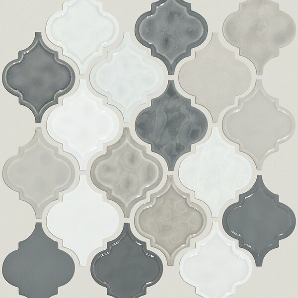 Victoria 4 x 4 Ceramic Mosaic Tile in Warm Blend by Shaw Floors