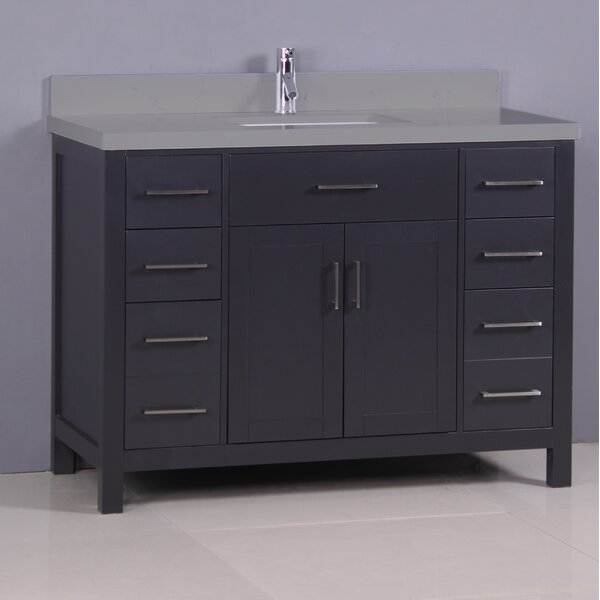 Flannery 42 Single Bathroom Vanity Set by Ebern Designs
