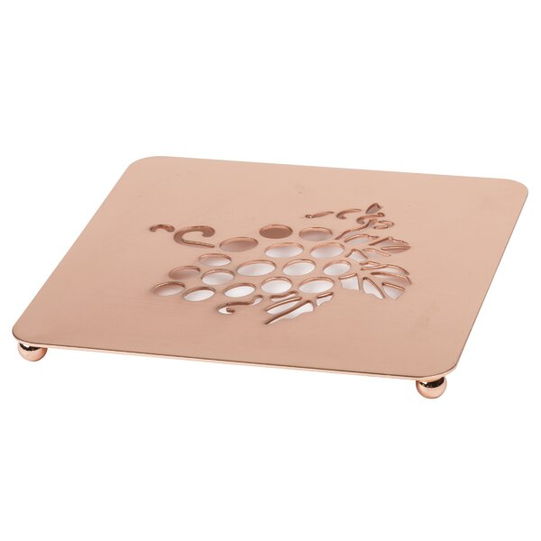 Metal Square Trivet by Red Barrel Studio