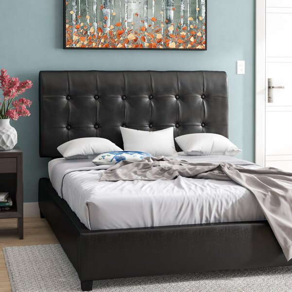 Beggs Upholstered Standard Bed by Ivy Bronx