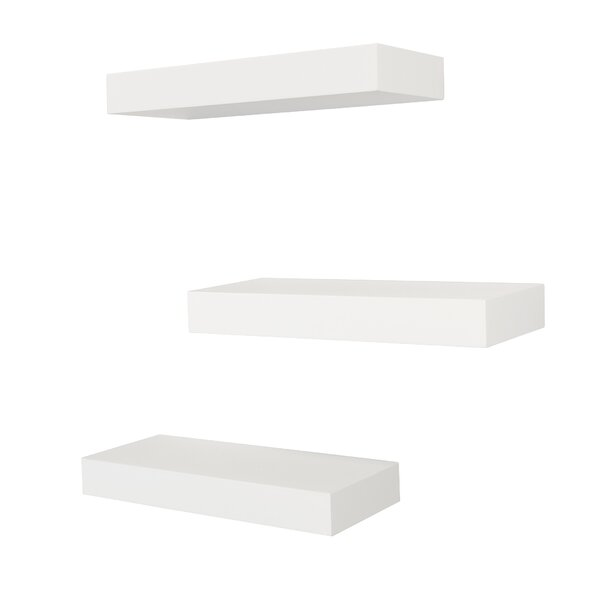 Croom Wall Shelf (Set of 3) by Ivy Bronx