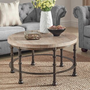 Mccaskill Industrial Coffee Table Williston Forge