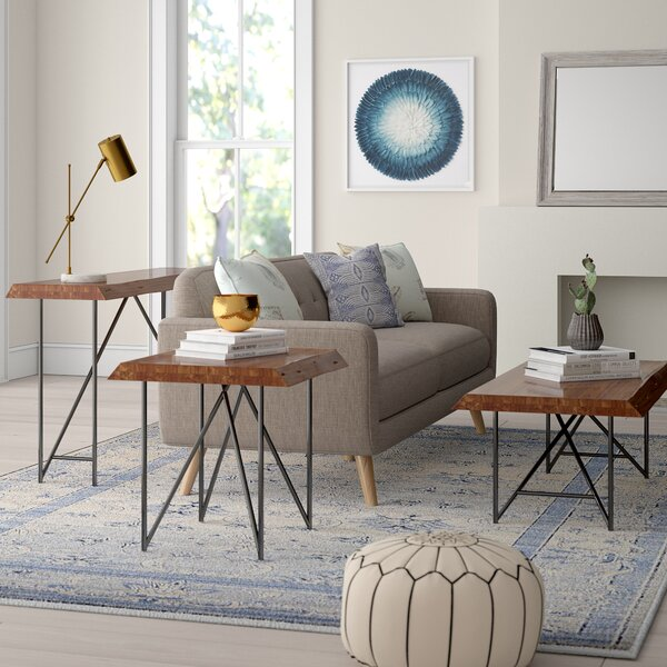 Winschoten 3 Piece Coffee Table Set By Mistana
