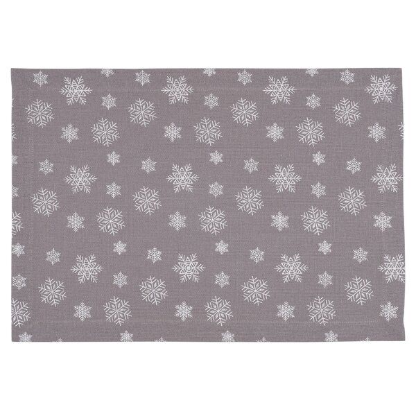 Snowfall Placemat (Set of 4) by KAF Home