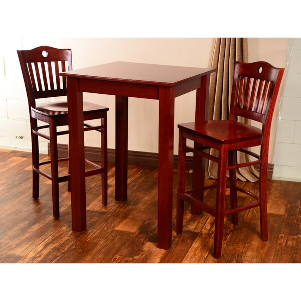 Isaacs 3 Piece Pub Table Set by Winston Porter