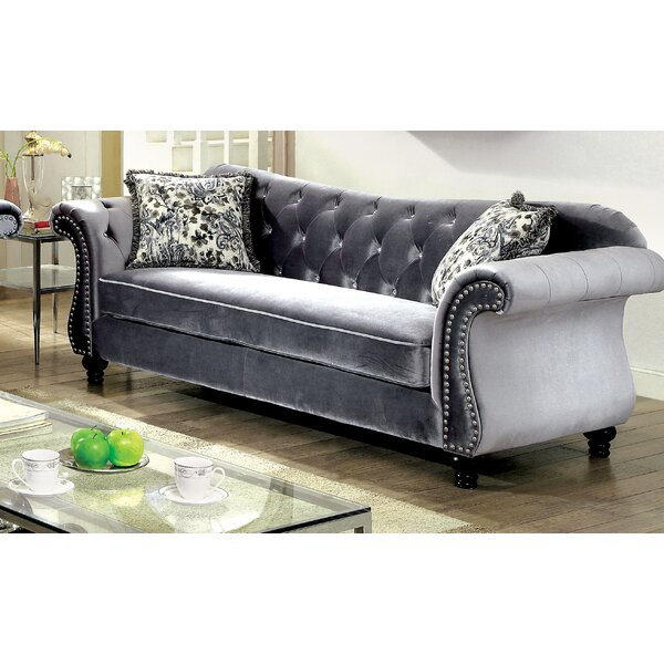 Best Discount Quality Tabitha Sofa by House of Hampton by House of Hampton