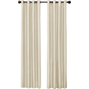 Cambridge Solid Blackout Thermal Grommet Single Curtain Panel