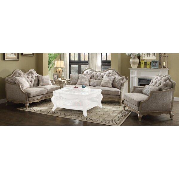 Maxen 3 Piece Living Room Set By One Allium Way