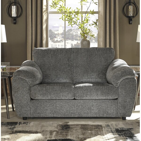 Cool Trendy Bridget Loveseat by Winston Porter by Winston Porter