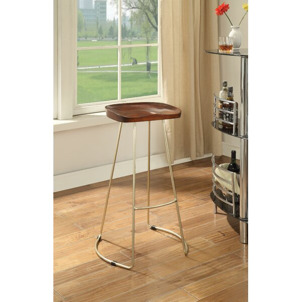 Alleman 30 Bar Stool (Set of 2) by Foundry Select