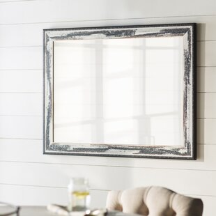 Laurel Foundry Modern Farmhouse Black/Chrome Wall Mirror