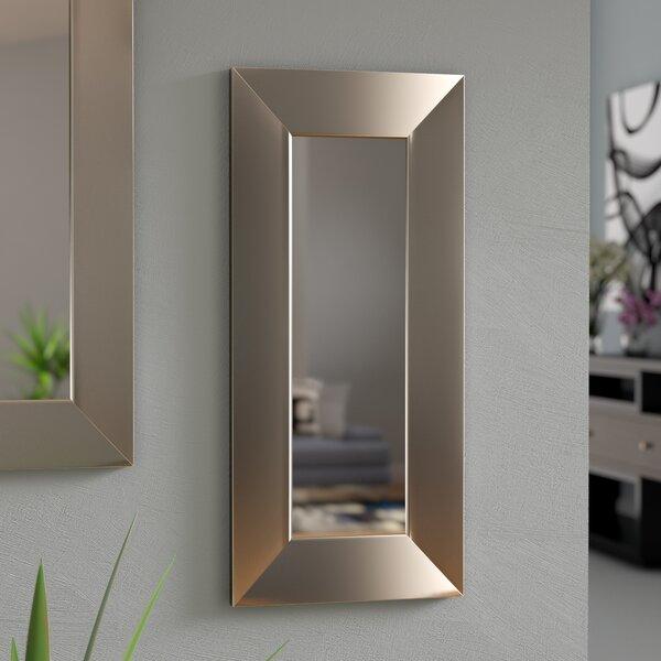 Shander Panel Accent Mirror by Orren Ellis