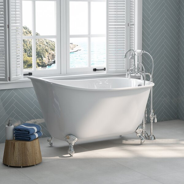 54 x 29 Clawfoot Bathtub by Cambridge Plumbing