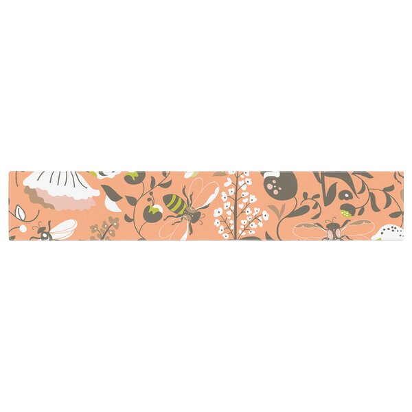 Very Sarie Hope for the Flowers I Table Runner by East Urban Home