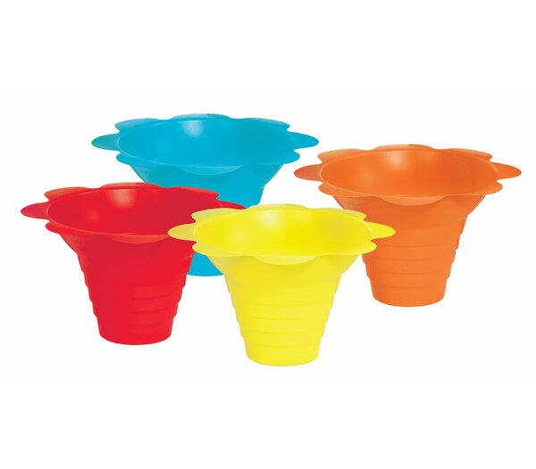 Flower Sno Cone Drip Cup (Set of 100) by Paragon International