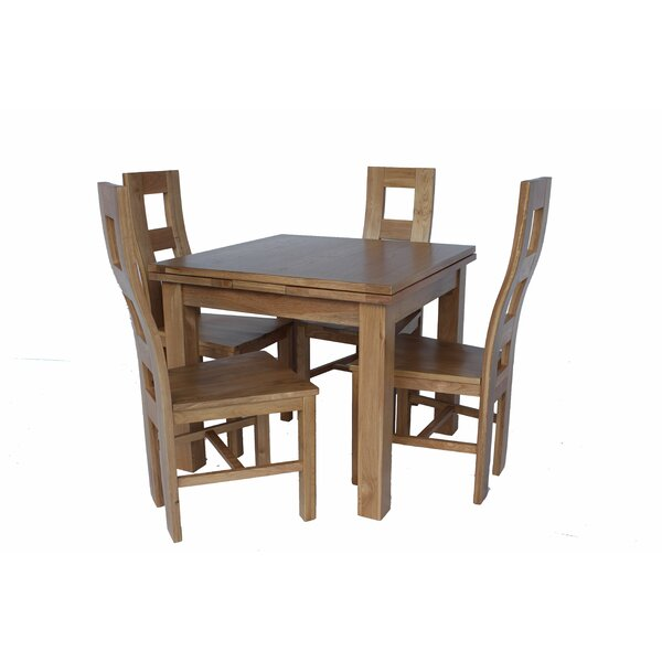 Pecoraro 5 Piece Extendable Dining Set by Loon Peak