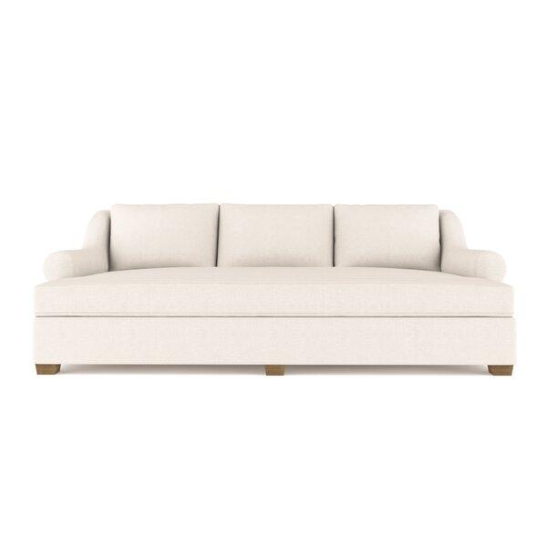 Auberge Vintage Leather Sleeper Sofa By Canora Grey