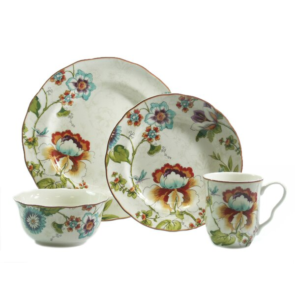 Bella Vista 16 Piece Dinnerware Set, Service for 4 by 222 Fifth