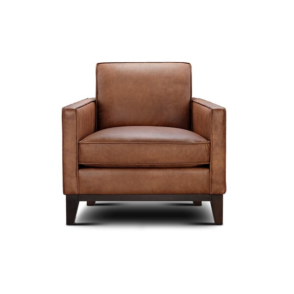 Whitson Leather Armchair by Foundry Select Foundry Select