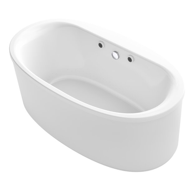 Sunstruck® 66 x 36 Oval Freestanding Air Bathtub by Kohler