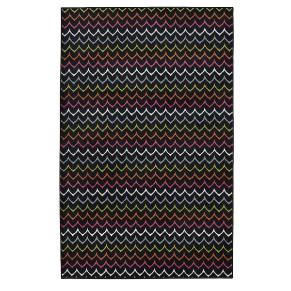 Rhoda Dyllan Power Loom Red Area Rug by Latitude Run