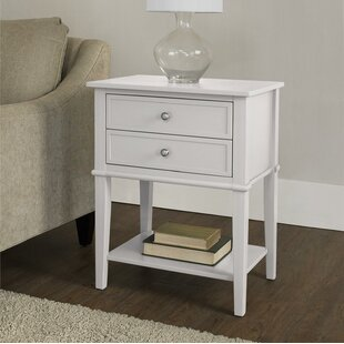 Dmitry End Table With Storage Beachcrest Home