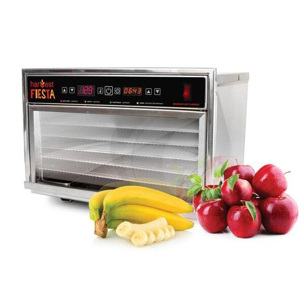 5 Tray Harvest Fiesta Digital Food Dehydrator with Shelf by TSM Products