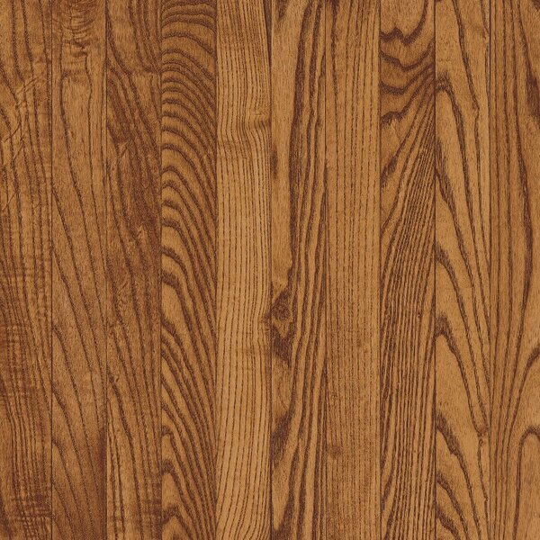 Westchester 2-1/4 Solid Oak Hardwood Flooring in Gunstock by Bruce Flooring
