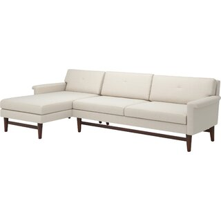 "Diggity 113"" Sofa with Chaise by TrueModern SKU:AD440234 Information"