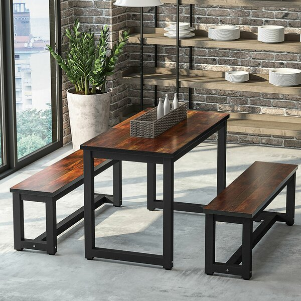 Mcanulty 3 Piece Dining Set by Williston Forge