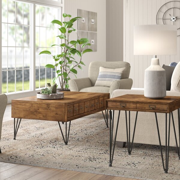 Bayle 2 Piece Coffee Table Set by Laurel Foundry Modern Farmhouse Laurel Foundry Modern Farmhouse