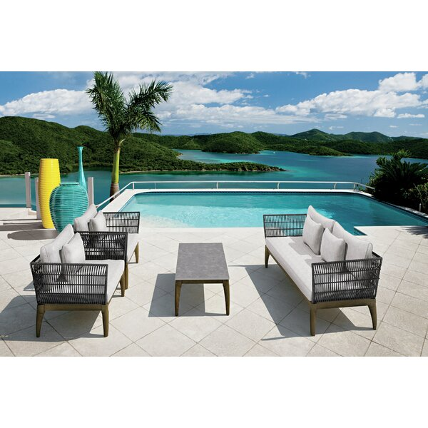 Explorer Wings Seating Group with Cushions by Seasonal Living