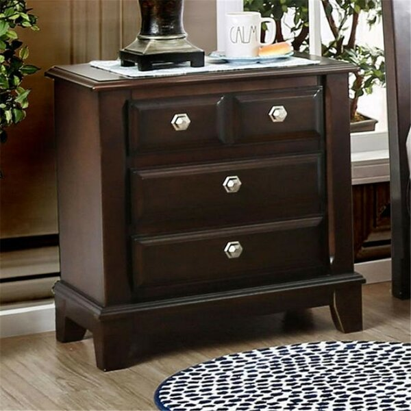 Harvell 3 Drawer Nightstand by Red Barrel Studio