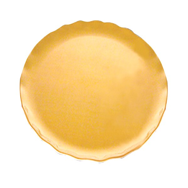 Coates Pearl Round Platter by Red Barrel Studio