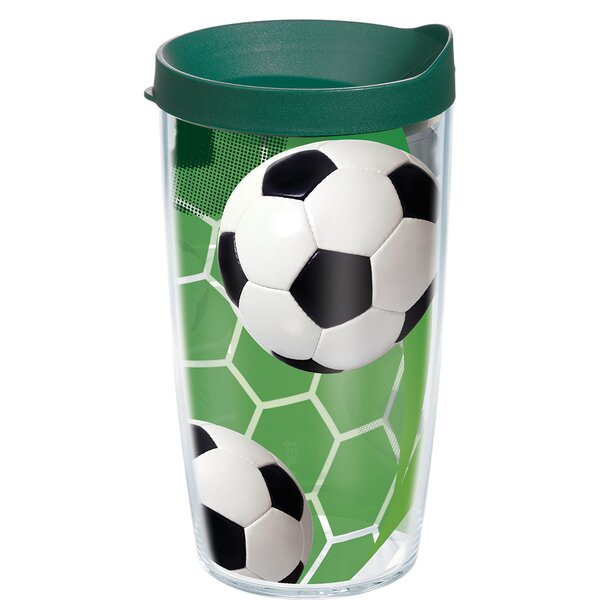 Game On Soccer Plastic Travel Tumbler by Tervis Tumbler