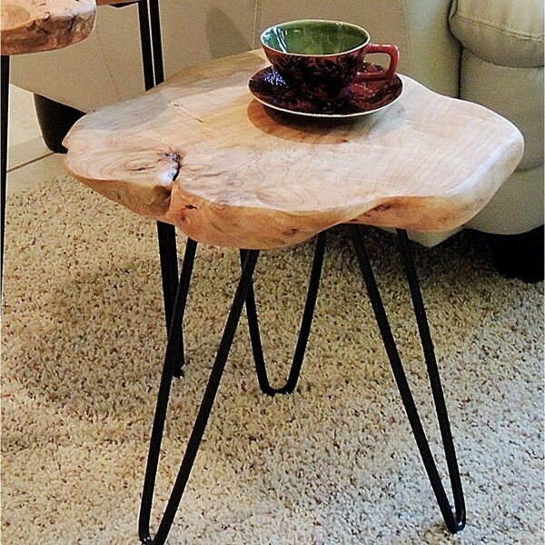 Cedar End Table by August Grove August Grove