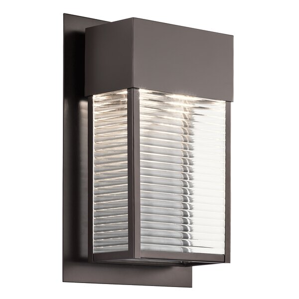 Hadlee 2-Light LED Outdoor Sconce by Red Barrel Studio