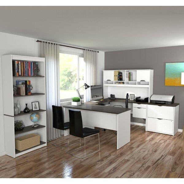 Innova U-Shape Desk Office Suite by Bestar