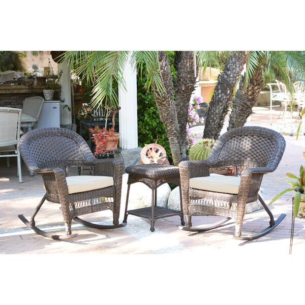 Starner 3 Piece Seating Group by Charlton Home