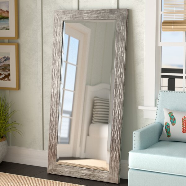 Beckette Hammered Bathroom/Vanity Mirror by Rosecliff Heights