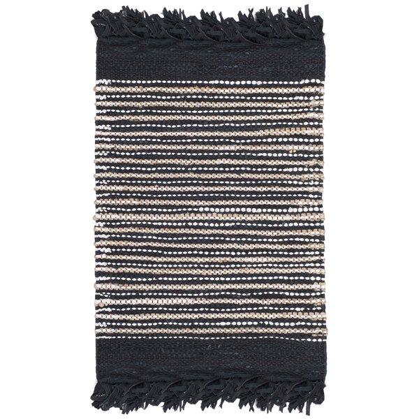 Swayze Hand Tufted Black Area Rug by Mistana