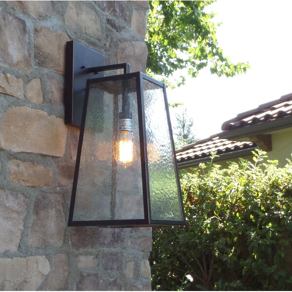 Devaney LED Outdoor Wall Lantern by Ivy Bronx