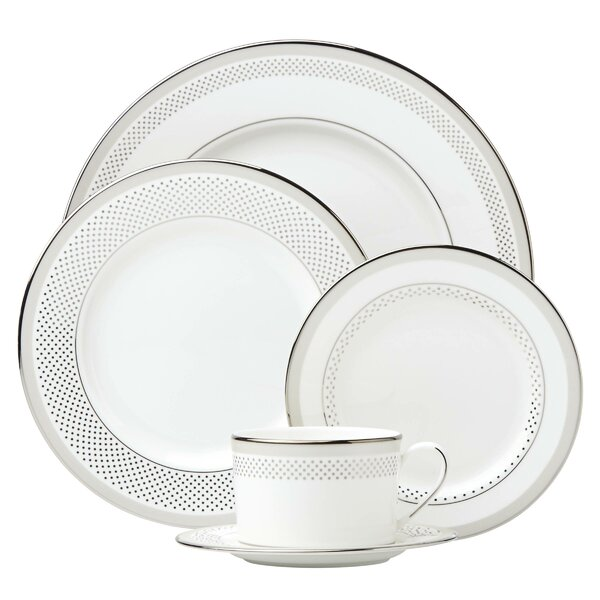 Whitaker Street Bone China 5 Piece Place Setting, Service for 1 by kate spade new york